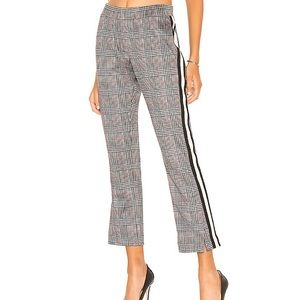 Pam & Gela Glen Plaid Track Pants